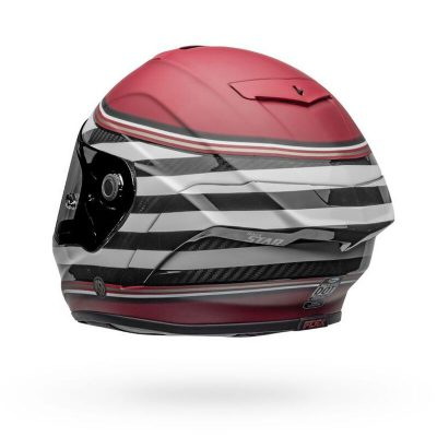 BELL Capacete RACE STAR FLEX DLX RSD THE ZONE WHITE / CANDY RED